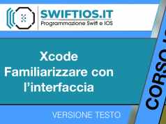 Xcode-Familiarizzare-con-l'interfaccia
