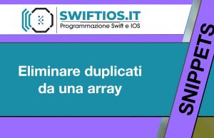 Eliminare-duplicati-da-una-array